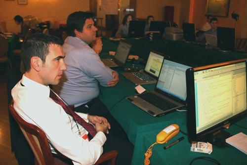 Barcellona 2010 - il Web Team